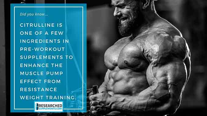 Citrulline Pre-Workout Supplement