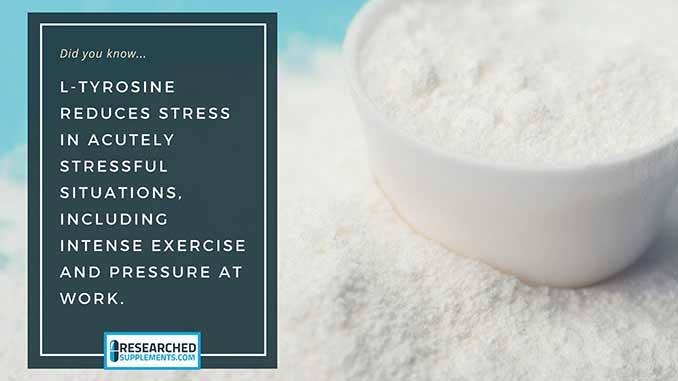 L-Tyrosine stress reducer