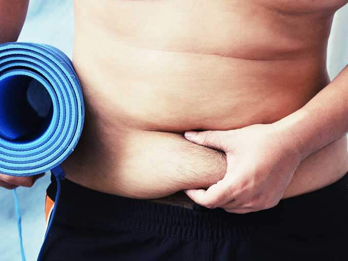 Yohimbine for fat burning around the middle