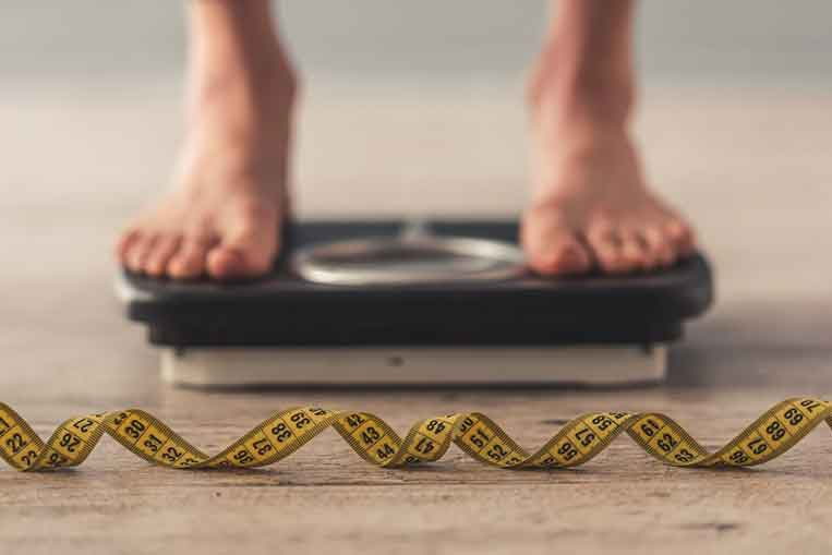 Weighing scales fat loss or weight loss
