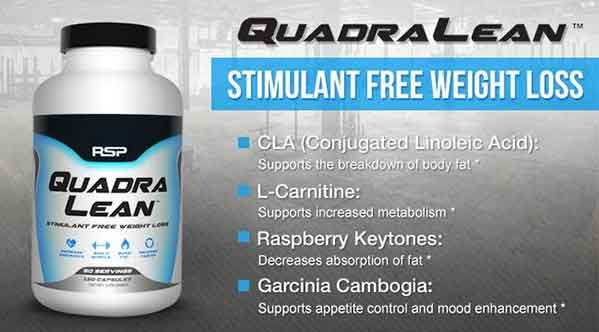 Rsp Quadralean Review Stimulant Free Fat Burner Our Test