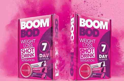 Boombod packaging