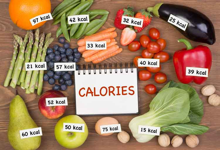 Count calories and suppress appetite
