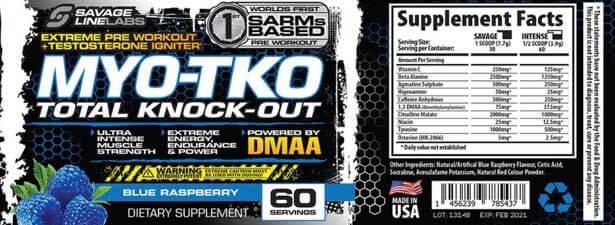 MYO-TKO label