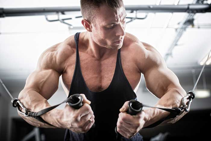 Muscle definition with Instant Knockout