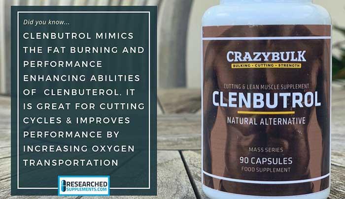 CrazyBulk Clenbutrol ResearchedSupplements