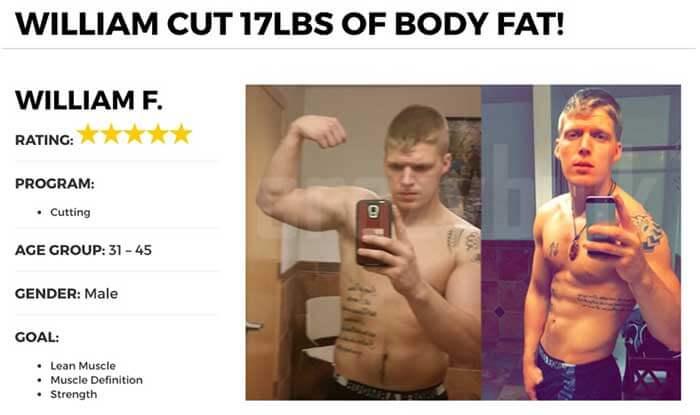 CrazyBulk cutting stack results