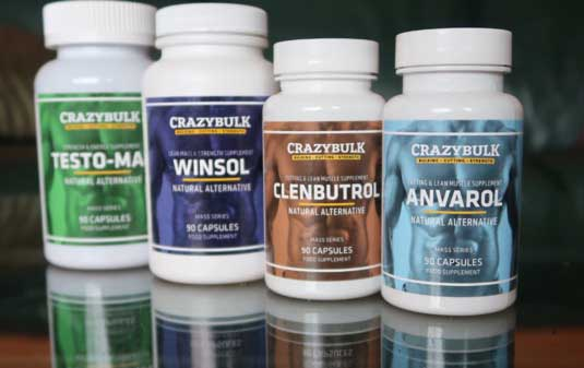 CrazyBulk Stacks for cutting