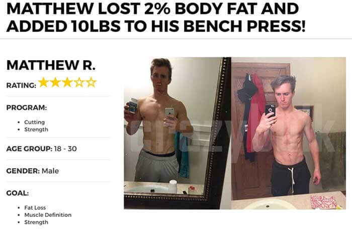CrazyBulk Fat Burner testimonials