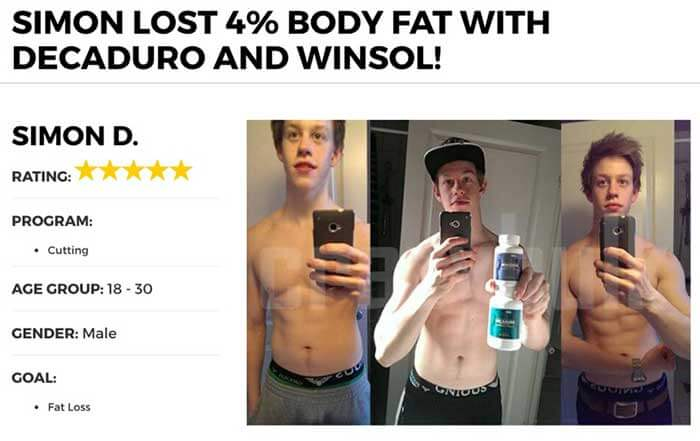 Winsol Before and after pics