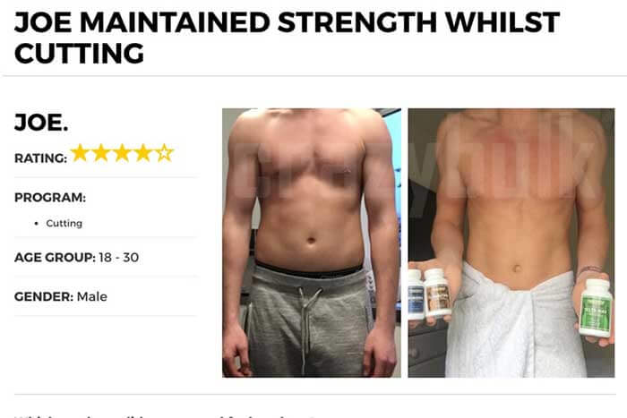 CrazyBulk Winsol Before and After Photo