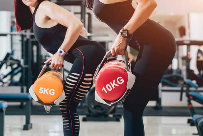 sandbag training for women