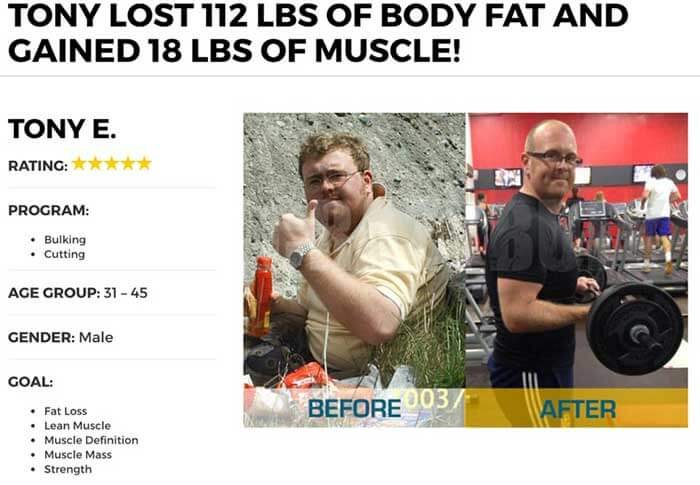 CrazyBulk Stacks before and after