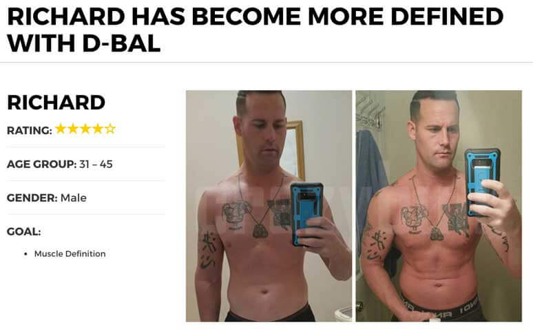 D-Bal results with Pics