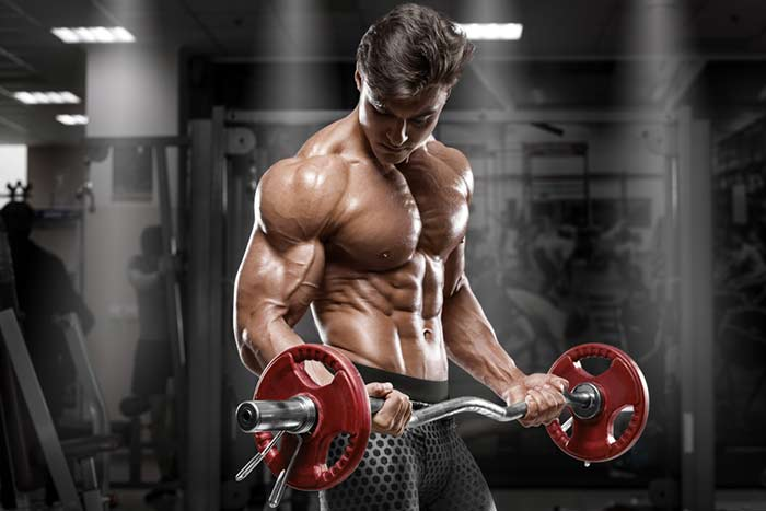 Man Bodybuilding