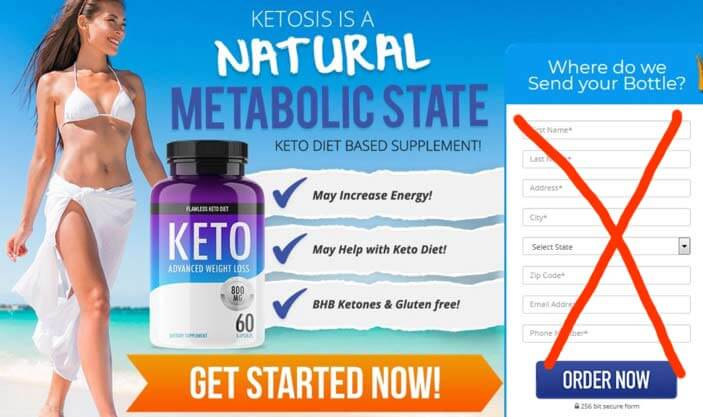 Flawless Keto Website