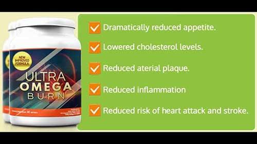 Ultra Omega Burn advert
