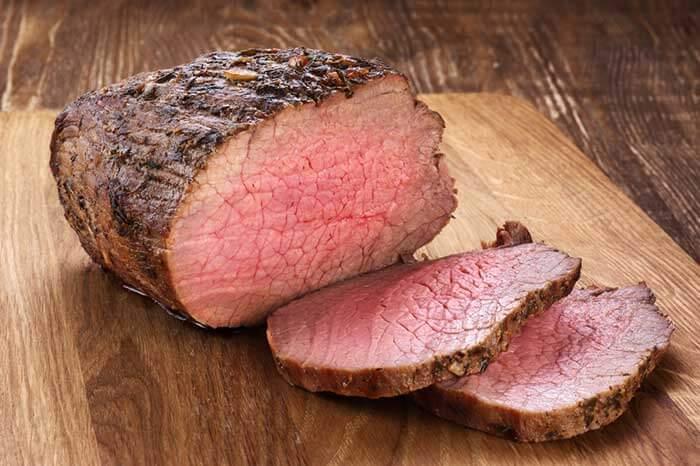 Beef contains Leucine