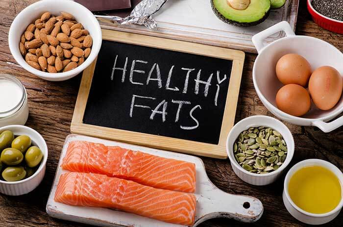 Eat healthy fat before workout
