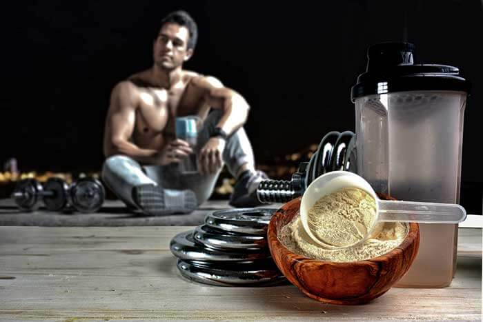 Workout supplement recovery
