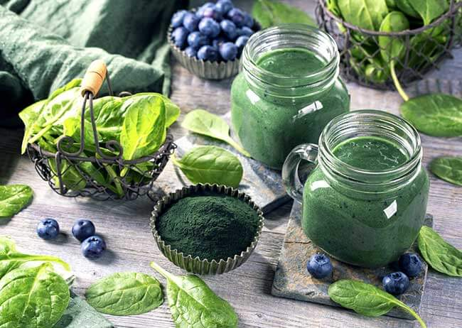 what are supergreen powders