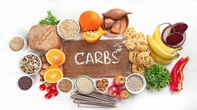 Blocking carbohydrates