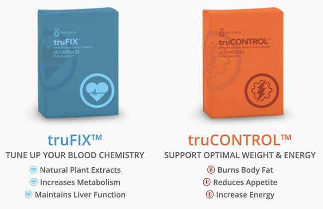 Truvision weight loss products