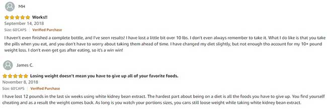Phytoral White Kidney Bean good reviews