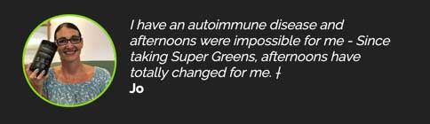 A testimonial from the official website