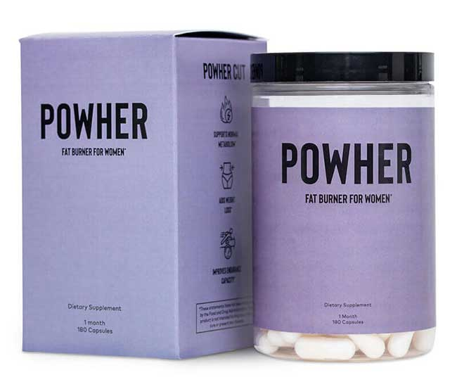 Powher fat burner for women