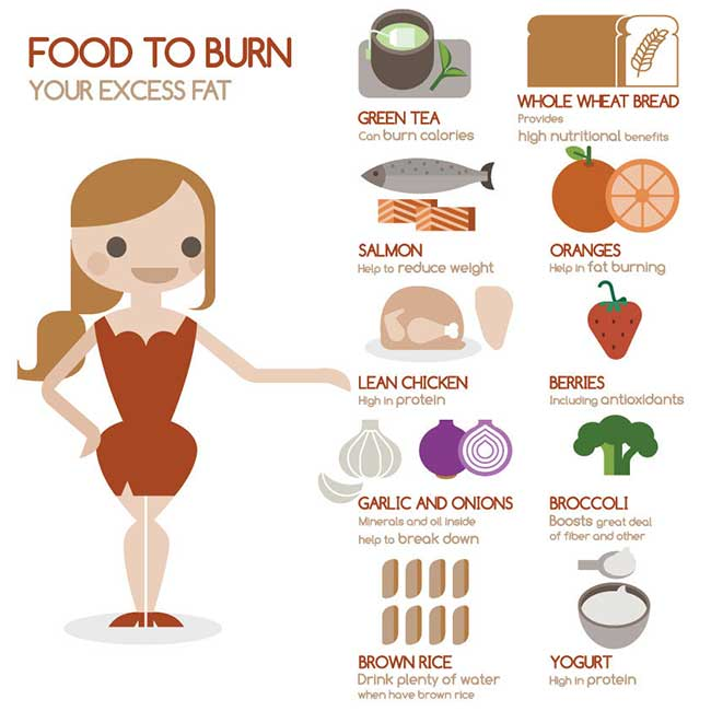 Fat Burn Diets: What To Eat To Burn Excess Body Fat